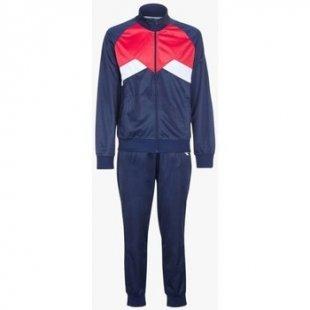 Diadora Jogginganzüge Cuff Suit Pl Herren Trainingsanzug Schwarz Rot Blau