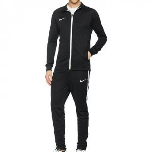 Nike Jogginganzüge Dry Herren Trainingsanzug Schwarz