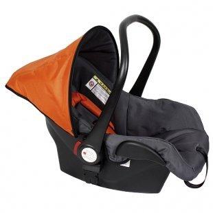 ZEKIWA - Babyschale für Hiker, orange/grau