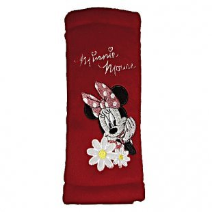 Minnie Mouse - Gurtpolster, rot