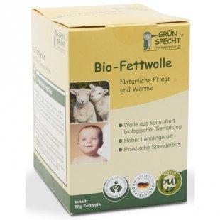 GRÜNSPECHT Bio-Fettwolle 12.98 EUR/100 g