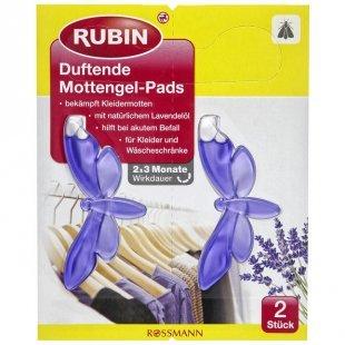 RUBIN Duftende Mottengel-Pads