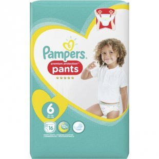 Pampers premium protection pants Größe 6