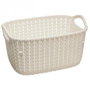 flink & sauber Korb Knit rechteckig 3 l