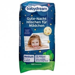 babydream Gute-Nacht-Höschen für Mädchen