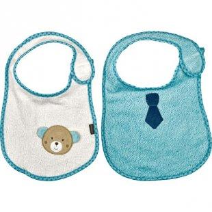 Babydream 2er Set Lätzchen Teddy & Krawatte