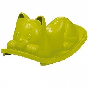 Smoby - Wippe Katze, grün