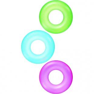 Bestway - Schwimmreifen 76 cm, neon/einfarbig, sortiert