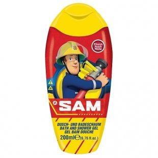 Feuerwehrmann Sam - Dusch-Badeschaum 200ml
