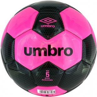 Umbro - Fußball, Größe 5, Pink-Schwarz