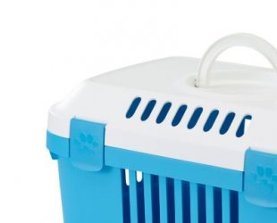 Transportbox Discovery 1 - pacific-blau
