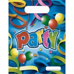 Procos - Party Streamers, 8 Partytüten