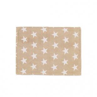 Babies R Us - Baby-Microflauschdecke, Sterne, beige