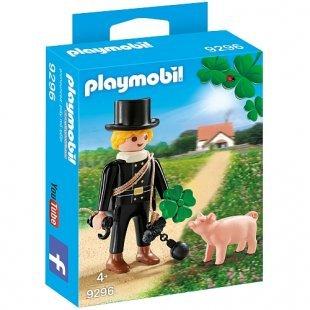 PLAYMOBIL - Schornsteinfeger mit Glücksschweinchen - 9296