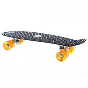AVIGO - Skateboard Retro, schwarz