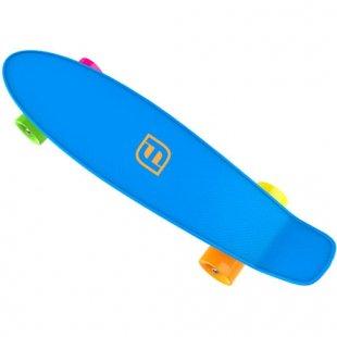 Funbee - Skateboard Mini Cruiser, 22, blau