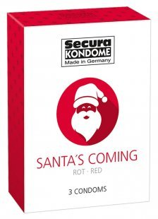 "Kondom ""Santa´s Coming´´, 52 mm"