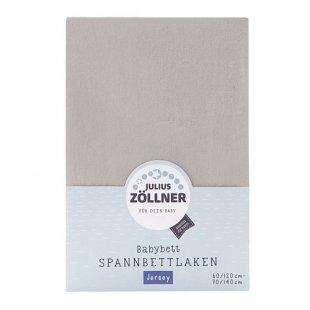 Zöllner - Spannbetttuch Jersey taupe (70/140)