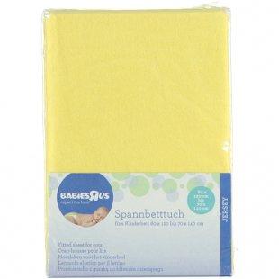 Babies R Us - Spannbetttuch Jersey vanille (60x120 + 70x140)