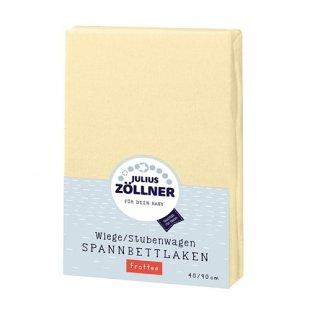 Zöllner - Spannbetttuch Frottee vanille (90x40)