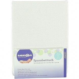 Babies R Us - Spannbetttuch Jersey, weiß (40x90)