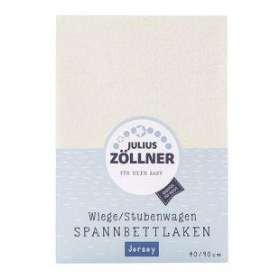 Zöllner - Spannbetttuch Jersey ecru (70/140)