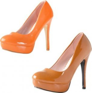 High Heel Pumps Skyline Paint in Lackleder Optik