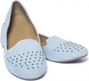 Damen Loafer Mokassins Gr. 39, hellblau