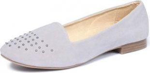 Damen Loafer Mokassins Gr. 38, taupe