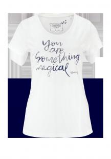 MUSTANG Damen T-Shirt weiß Gr.L
