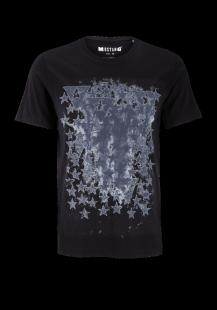 MUSTANG Herren T-Shirt schwarz Gr.M