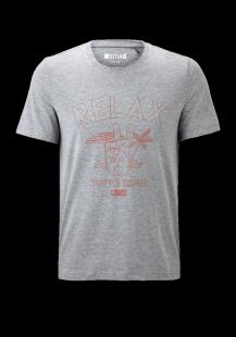 MUSTANG Herren T-Shirt grau Gr.S