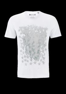 MUSTANG Herren T-Shirt weiß Gr.M