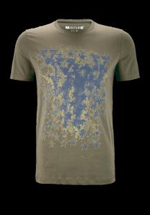 MUSTANG Herren T-Shirt grün Gr.M