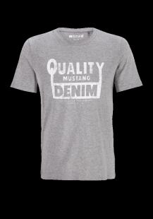 MUSTANG Herren T-Shirt grau Gr.L