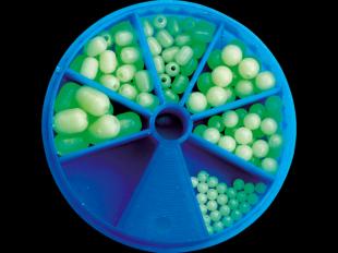 Fluo-Perlen-Sortiment