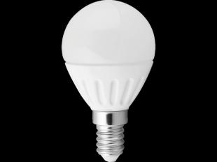 LED-Leuchtmittel Mini-Globe, E14/4 W