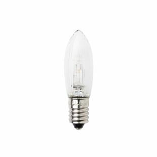 LED-Glühbirne, E10 Schraubgewinde, warmweiß