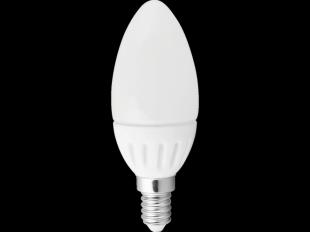 LED Leuchtmittel Kerze, E14/3 W