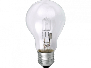 Halogenlampe Eco-Halogen E27 42W, 2er Set