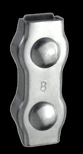 Duplex-Klemmen A2,3 mm