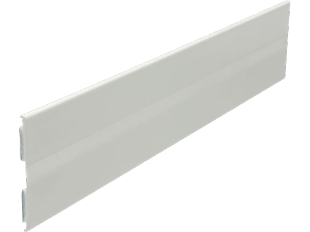 Knickwinkelprofil, selbstklebend weiß