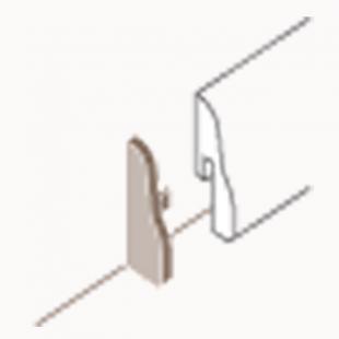 Abschlusskappen Typ 2 für Laminat Sockelleiste 4