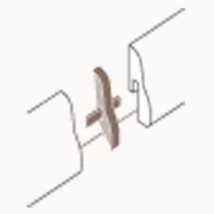 Übergangskappen Typ 2 für Laminat Sockelleiste 4