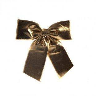 Schleife 28x28 cm, gold