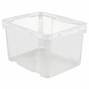 Aufbewahrungsbox UNIBOX III L, transparent