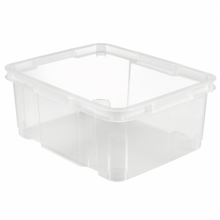 Aufbewahrungsbox UNIBOX III M, transparent