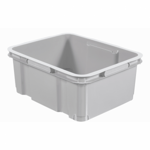 Aufbewahrungsbox UNIBOX III M, grau