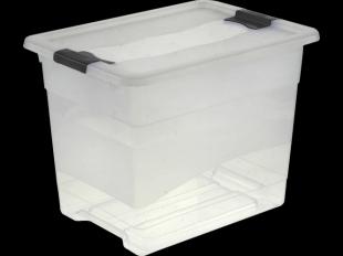 Kristallbox mit Deckel, 24 l