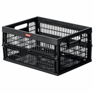 Klappbox, schwarz, 30 L
